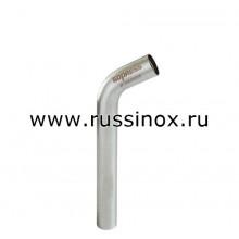 Отвод нержавеющий 60гр. безраструбный AISI 304/316