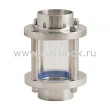 Диоптр ( смотровое стекло ) соединение сварка/сварка AISI 304/316