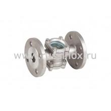 Диоптр ( смотровое стекло ) соединение фланцевое AISI 304/316