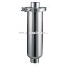Фильтр нержавеющий прямой молочный приварной AISI 304/316