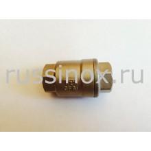 Клапан обратный нержавеющий муфтовый ( соединение внутренняя резьба ) прямой AISI 304/316