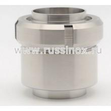 Клапан обратный нержавеющий тарельчатый приварной AISI 304/316