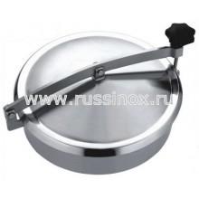 Люк круглый нержавеющий AISI 304/316