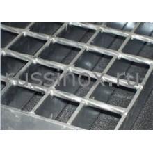 Настил лестничный квадратный нержавеющий AISI 304/316