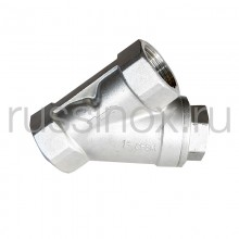 Фильтр нержавеющий муфтовый ( внутренняя резьба ) AISI 304/316