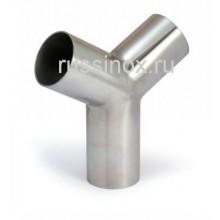 Отвод приварной нержавеющий 120гр. У-образный AISI 304/316