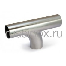 Отвод приварной нержавеющий электросварной У-образный AISI 304/316