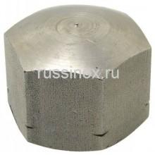 Гайка нержавеющая шестигранная  колпачковая цилиндрическая AISI 304/316