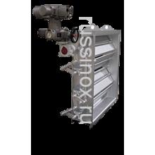 Заслонка газовая ( жалюзи щитовые ) щитовая нержавеющая AISI 304 / 316 / 310