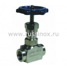 Клапан игольчатый нержавеющий AISI 316