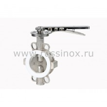 Затвор дисковый нержавеющий поворотный межфланцевый  AISI 304/316
