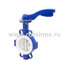 Затвор дисковый поворотный межфланцевый с диском из нержавеющей стали AISI 304/316 (для высоких температур)